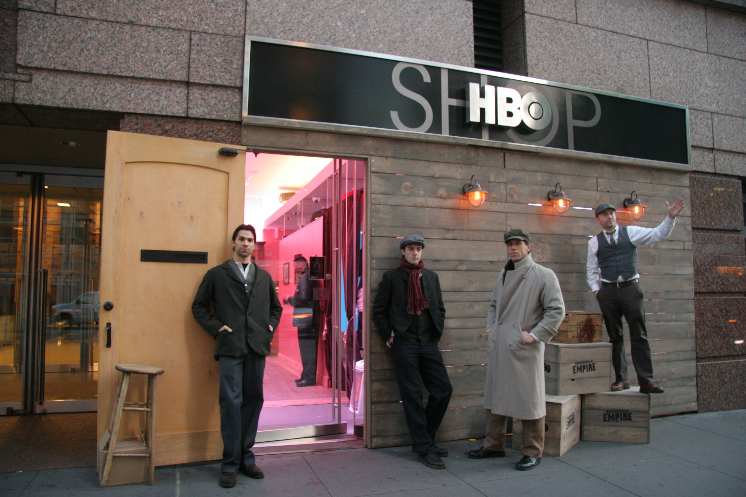 HBO Installation