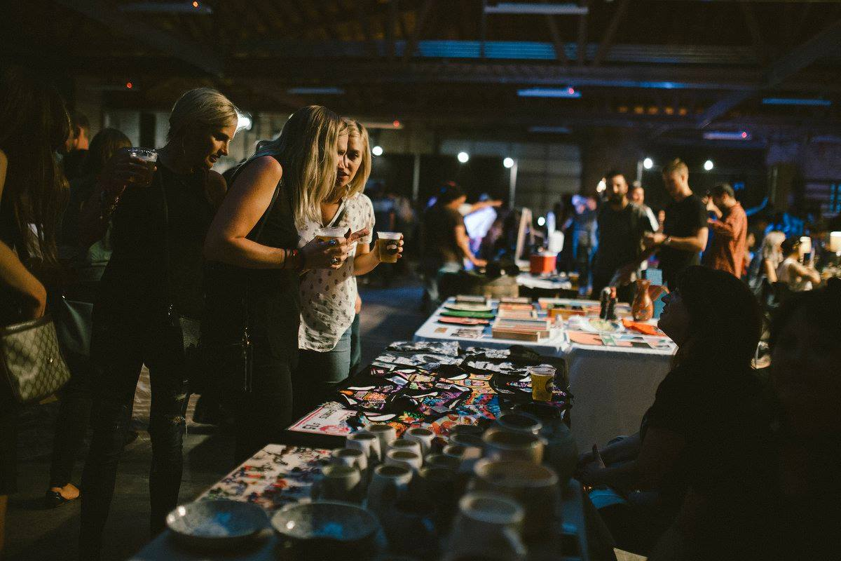 Sauced Night Market@ House of Vans - September 19, 5-10. RSVP Here - Live art, drinks and +40 Chicago makers!