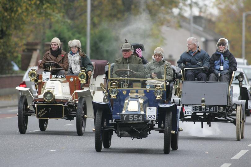 London to Brighton Veteran Car Run.