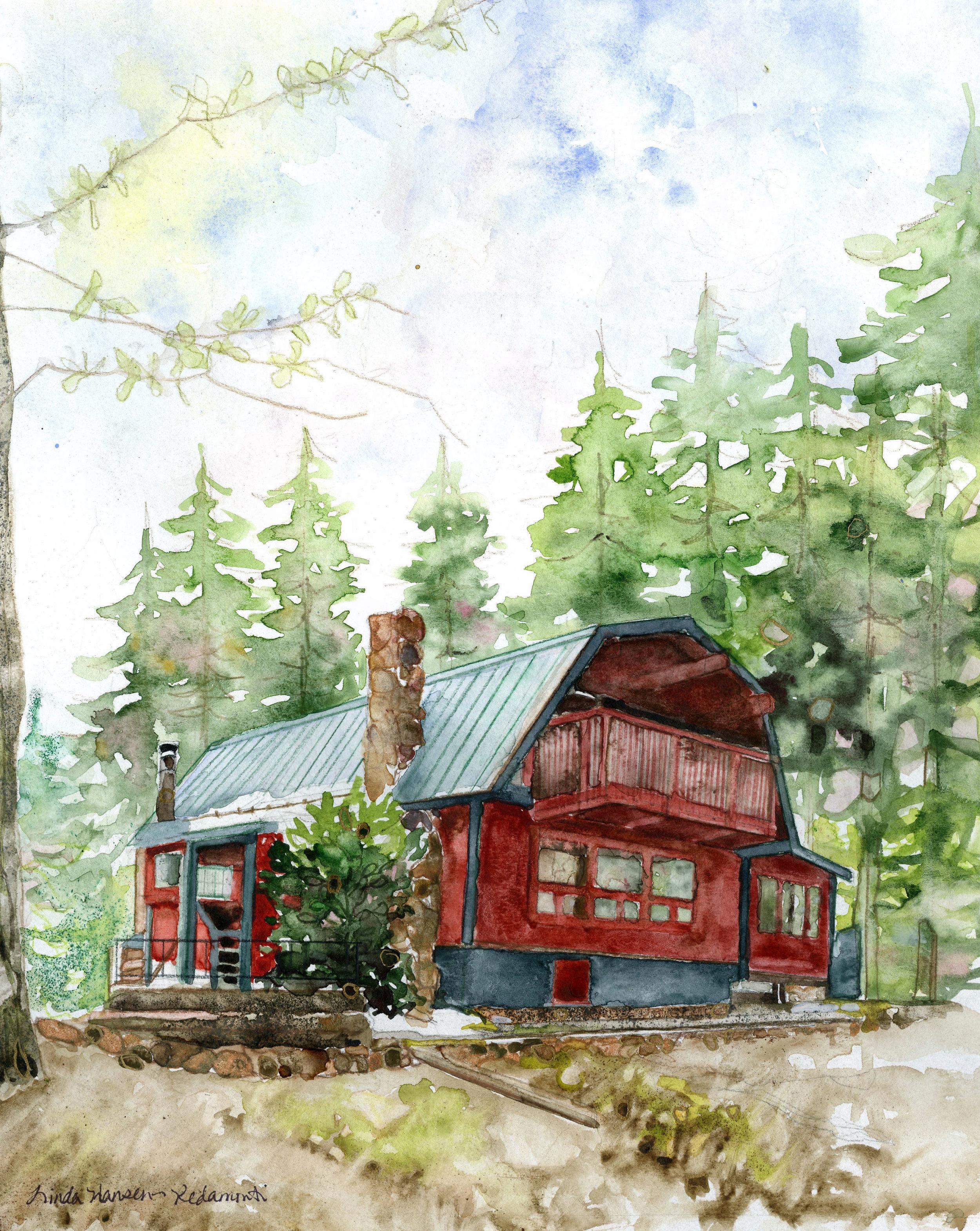 Watercolor, 2019