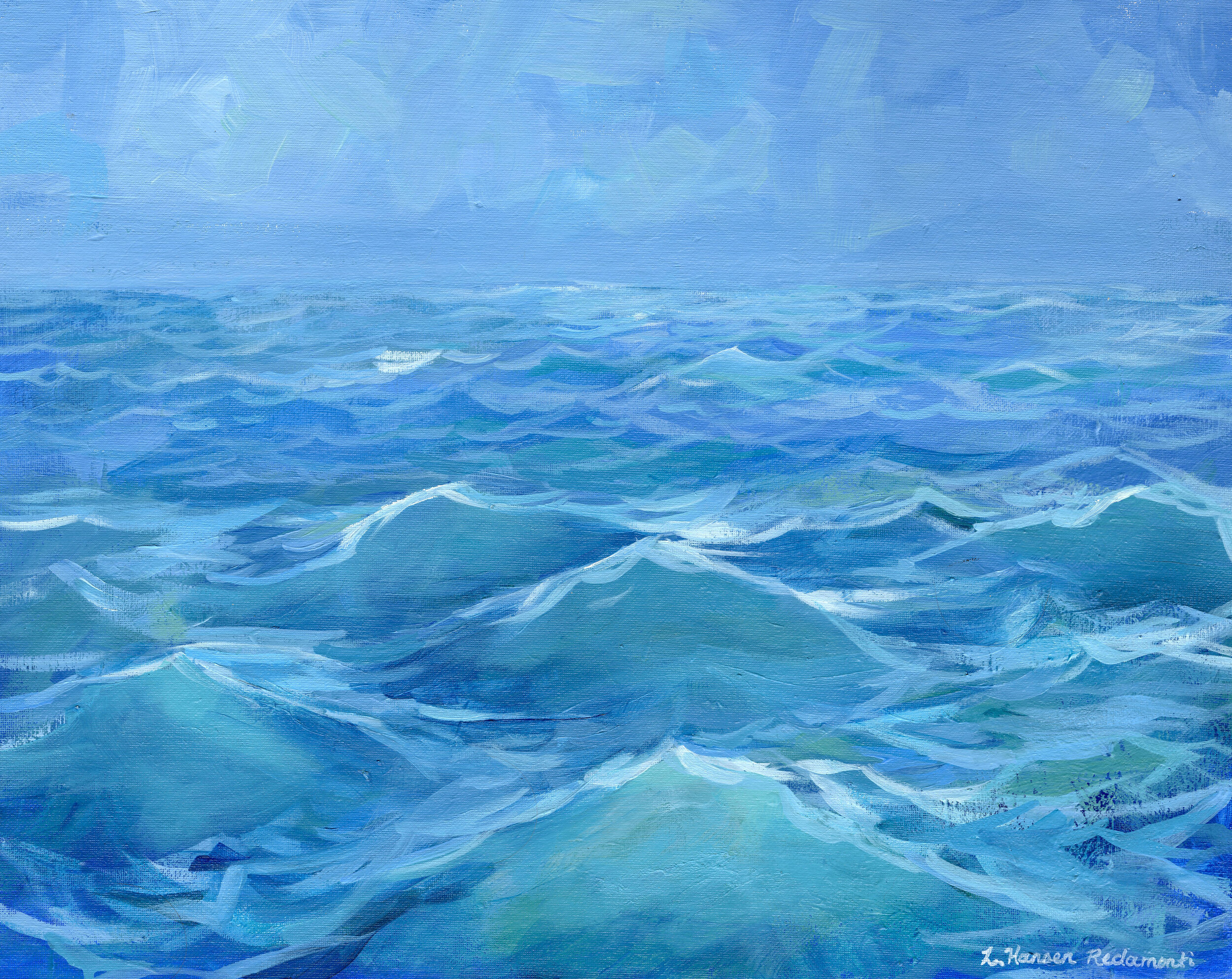 """Study of Ocean Waves"""