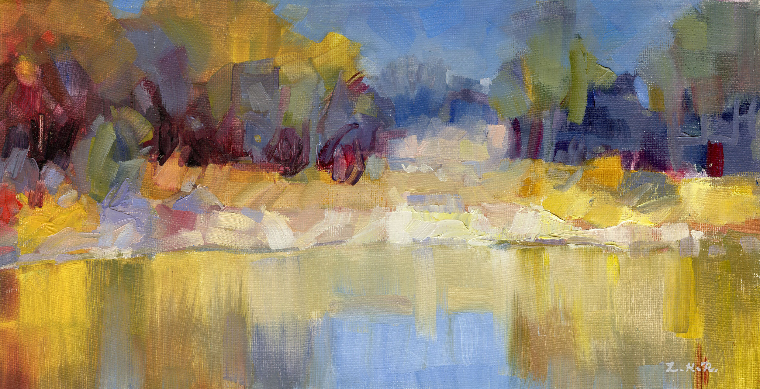 """Autumn Pond"""