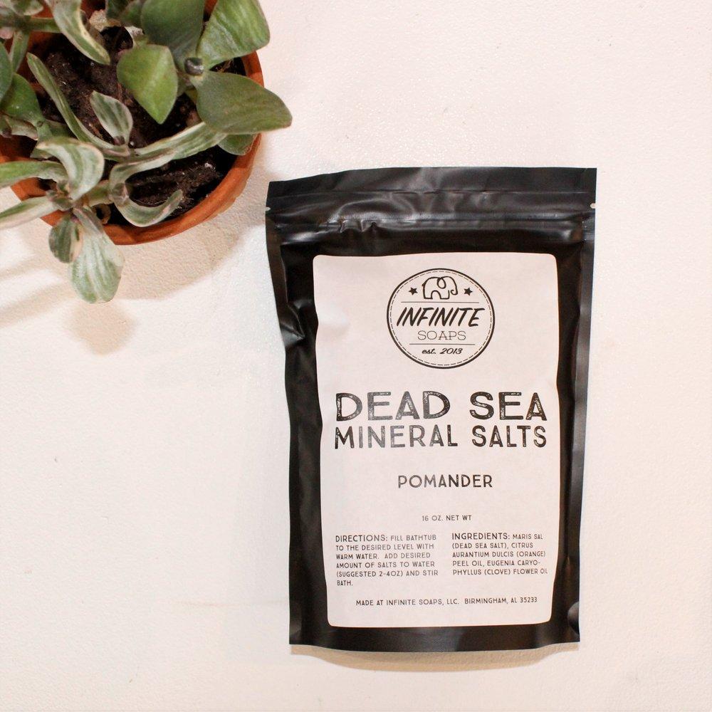 Infinite Soaps: Dead Sea Mineral Salt