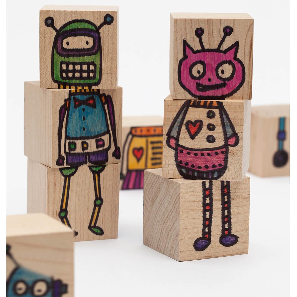 ArtsBot: Color Blocks