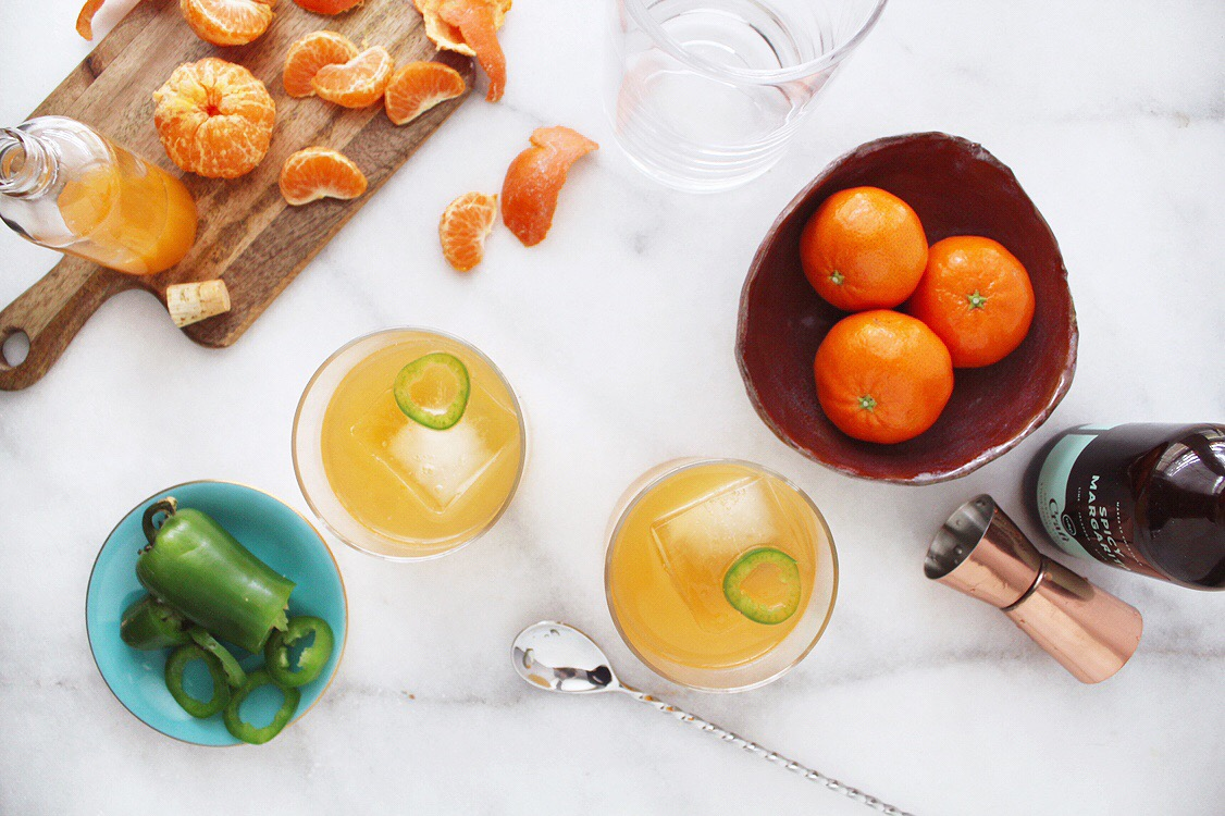 spicy clementine margs