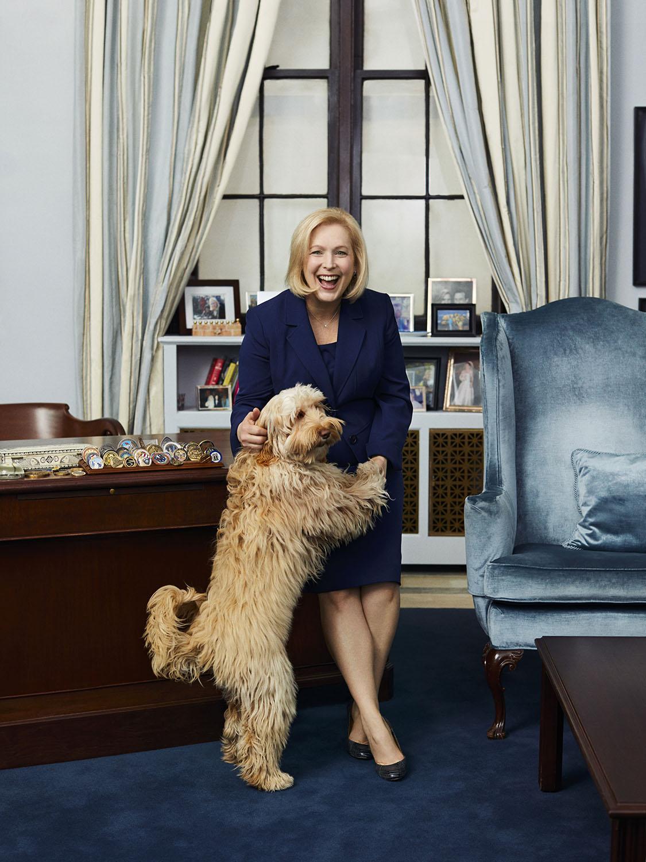 Senator Kirsten Gillibrand/Glamour