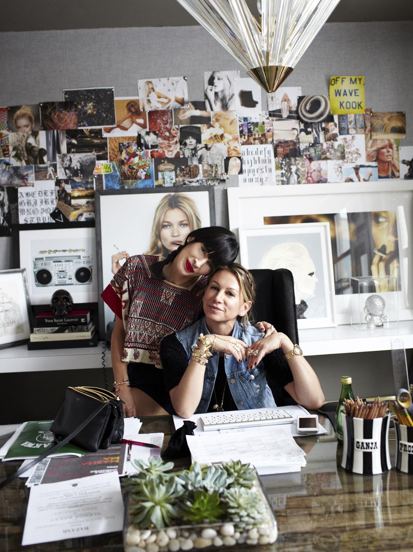 Jennifer Fisher & Athena Calderone