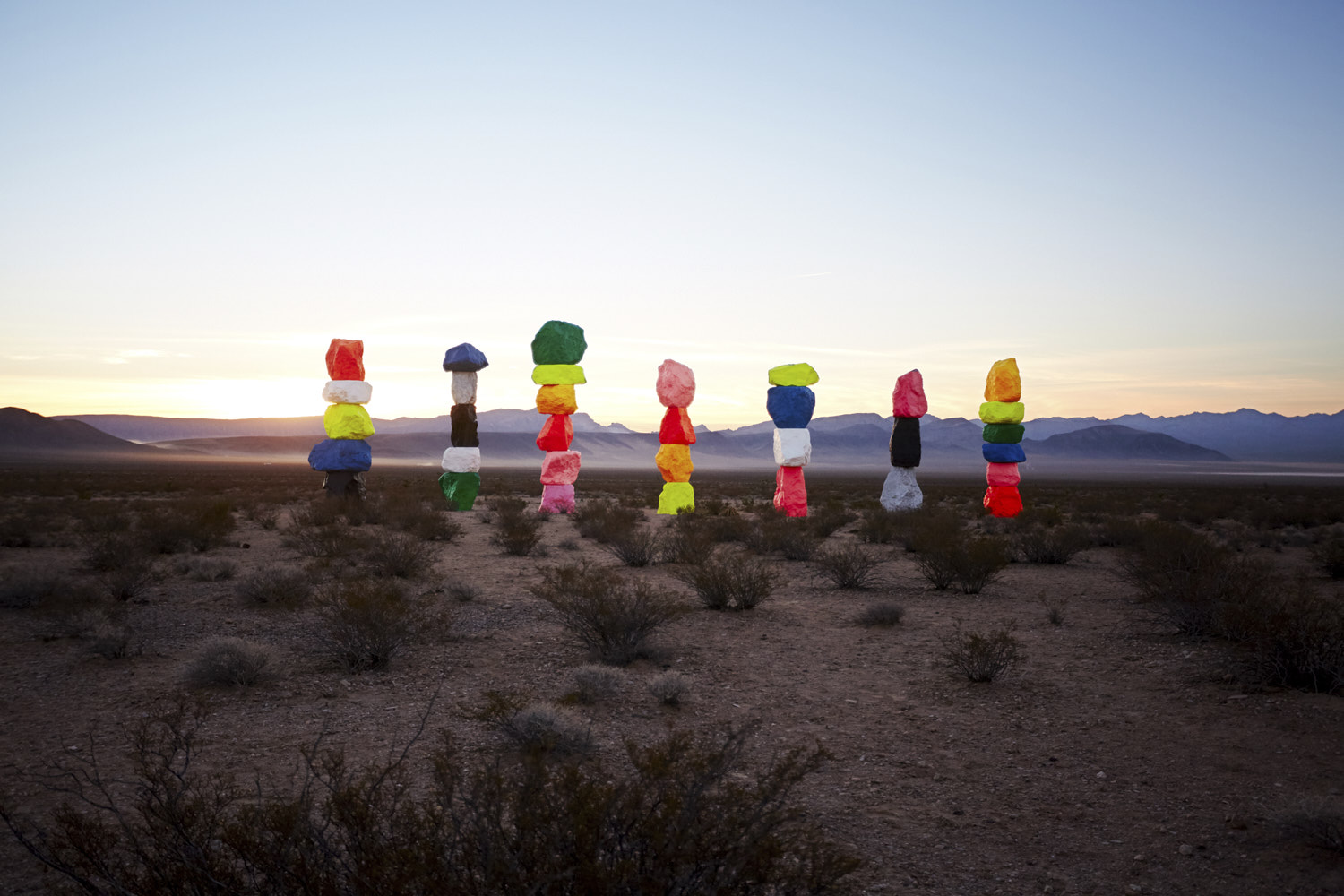 Seven Magic Mountains/MGM X 23 Stories