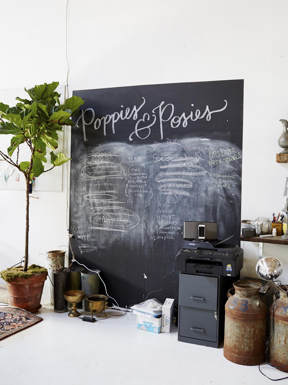 Poppies & Posies/West Elm