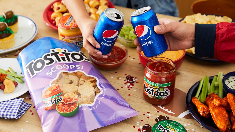 Pepsi & Tostitos & Kroger