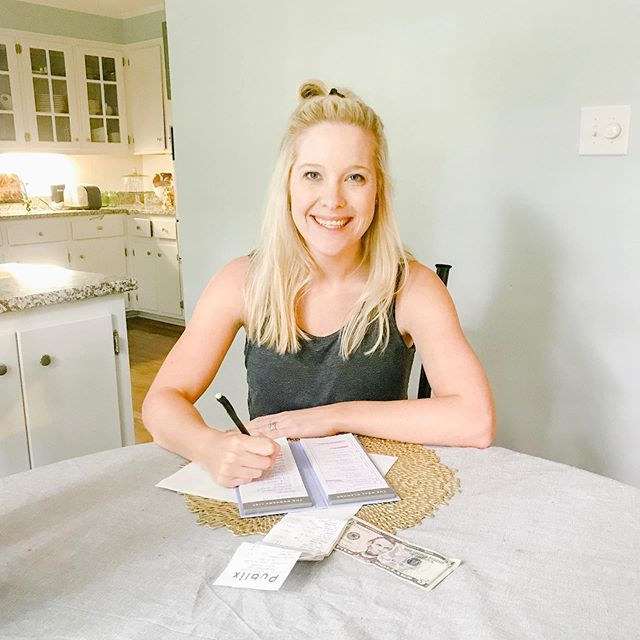 "I cannot tell you how often I hear "" Eating healthy is too expensive."" So let me say this loud and clear No 👏🏼 it 👏🏼 is 👏🏼 not👏🏼. . Ok now that that's out of the way here are my five tips for eating healthy on a budget which is something we Regans do every single week because diapers are expensive 💵 Who feels me? 🙋🏼‍♀️ 1. Plan your meals ahead of time and keep inventory of exactly what you've got going on in your fridge and freezer. This is going to help avoid buying duplicates and also help to insure you're eating what you have and not having to throw things in the trash.  2. Buy frozen produce. Double check your labels and make sure there is nothing added to the vegetable or fruit of your choosing. This can actually be healthier than fresh because most of the time the produce is flash frozen right there on the farm so the nutrients are locked in 🔒  3. Shop sales and stock up on meats when they go on sale. I live for the Publix BOGO deals. 4. When it comes to fresh produce eat seasonally. When you eat seasonally you save 💰 and also are getting more nutrients from that fruit or vegetable since chances are it's not traveling as far. So no strawberries in December unless they're frozen 👍🏼 5. Take good old dolla dolla bills to the grocery store with you or order pickup service. This will help you to avoid those impulse buys and therefore lower your monthly grocery bill. 🙌🏼🙌🏼🙌🏼 . . .  Who else has good tips? I wanna hear em. #momwhobudgets #budgetmeals #healthygrocerylist #healthyhome #debtfreejourney #nutritionist #budgetnutrition #heathyeats #3monthspostpartum #newmomlifestyle"