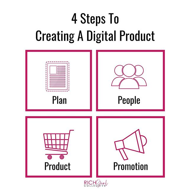 **4 Steps to Creating a Digital Product**⁣⁣⁣⁣ ⁣⁣⁣⁣ Online courses are projected to be a 340 billion dollar industry by 2023.⁣⁣⁣⁣ ⁣⁣⁣⁣ 𝐓𝐡𝐞𝐫𝐞 𝐚𝐫𝐞 𝐒𝐞𝐯𝐞𝐫𝐚𝐥 𝐓𝐲𝐩𝐞𝐬 𝐨𝐟 𝐃𝐢𝐠𝐢𝐭𝐚𝐥 𝐏𝐫𝐨𝐝𝐮𝐜𝐭𝐬 𝐓𝐡𝐚𝐭 𝐘𝐨𝐮 𝐂𝐚𝐧 𝐂𝐫𝐞𝐚𝐭𝐞:⁣⁣⁣⁣ ⁣⁣⁣⁣ -Courses (My Favorite)⁣⁣⁣⁣ -Masterclass⁣⁣⁣⁣ -Workbooks/journals⁣⁣⁣⁣ -PDF's⁣⁣⁣⁣ -Audio files⁣⁣⁣⁣ -And many more⁣⁣⁣⁣ ⁣⁣⁣⁣ You can create digital products around your skills, passions, hobbies, or expertise.⁣⁣⁣⁣ ⁣⁣⁣⁣ 𝐇𝐞𝐫𝐞 𝐀𝐫𝐞 𝐒𝐨𝐦𝐞 𝐄𝐱𝐚𝐦𝐩𝐥𝐞𝐬 𝐨𝐟 𝐃𝐢𝐠𝐢𝐭𝐚𝐥 𝐏𝐫𝐨𝐝𝐮𝐜𝐭𝐬 𝐓𝐡𝐚𝐭 𝐌𝐲 𝐒𝐭𝐮𝐝𝐞𝐧𝐭𝐬 𝐇𝐚𝐯𝐞 𝐂𝐫𝐞𝐚𝐭𝐞𝐝:⁣⁣⁣⁣ ⁣⁣⁣⁣ 𝘈𝘴𝘩𝘭𝘦𝘺: Created a course on how to braid your hair in under 4 hours⁣⁣⁣⁣ 𝘓𝘪𝘴𝘢: Taught a masterclass on how to apply makeup even if you aren't a professional makeup artist⁣⁣⁣⁣ 𝘋𝘦𝘪𝘥𝘳𝘢: Filmed a 3 part video series on baking the perfect cake⁣⁣⁣⁣ 𝘈𝘯𝘨𝘦𝘭𝘢: Is a teacher that creates downloadable lesson plans for first-grade moms⁣⁣⁣⁣ 𝘓𝘢𝘤𝘪: Created a resume writing kit to help women land a better job⁣⁣⁣⁣ ⁣⁣⁣⁣ And this is just a sample list to show you that everyone has a course in them. As long as there is an audience looking for what you have to offer, you can create an online course. ⁣⁣⁣ ⁣⁣⁣⁣ 𝐇𝐞𝐫𝐞 𝐚𝐫𝐞 𝐭𝐡𝐞 𝟒 𝐒𝐭𝐞𝐩𝐬 𝐭𝐨 𝐂𝐫𝐞𝐚𝐭𝐢𝐧𝐠 𝐚𝐧 𝐎𝐧𝐥𝐢𝐧𝐞 𝐂𝐨𝐮𝐫𝐬𝐞:⁣⁣⁣⁣ ⁣⁣⁣⁣ ➡Step 1: Plan out your course - Research your niche, then decide on a course topic and validate your course idea⁣⁣⁣⁣ ➡Step 2: People - Who is your ideal customer avatar? This is the person that will most likely purchase your product. Research their pain points and questions they have.⁣⁣⁣⁣ ➡Step 3: Product - Once you have researched your ideal client and determined what their pain points/passions are, then you will have a better understanding of what needs to be in your course.⁣⁣⁣⁣ ➡Step 4: Promote - I prefer pre-selling my courses in my Facebook group before I even create them. However, you can presell your course where ever your ideal customers hang out.⁣⁣⁣⁣ ⁣⁣⁣⁣ The main reason why I love online courses is that once it's created, you can automate the process, which allows you to make money 24 hours a day.⁣⁣⁣⁣ ⁣⁣⁣⁣ If you have any questions, DM me.