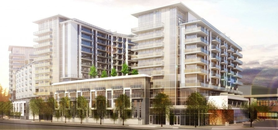 Around a dozen residential towers with 2,000 new homes will be built under the Richmond Centre redevelopment plan.