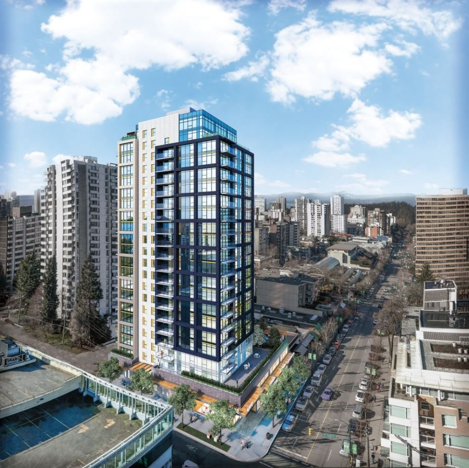 The tower is being built on Robson at Nicola Street and is expected to be completed in 2021. | Rendering IBI Group