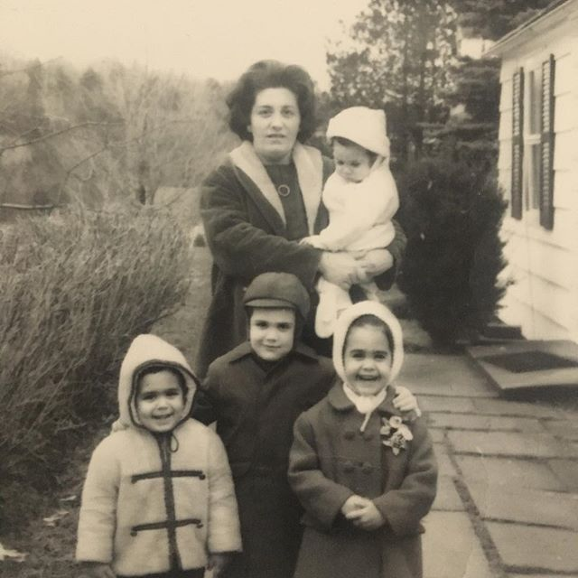 This image of my mom just tugs at my heart. Pictured are 4 of my older siblings. By the time this pic was developed in '66, she had given birth to my brother Matt, the fifth. No wonder she cried when found out she was pregnant with me!!! #sothestorygoes #1971 #numbersix