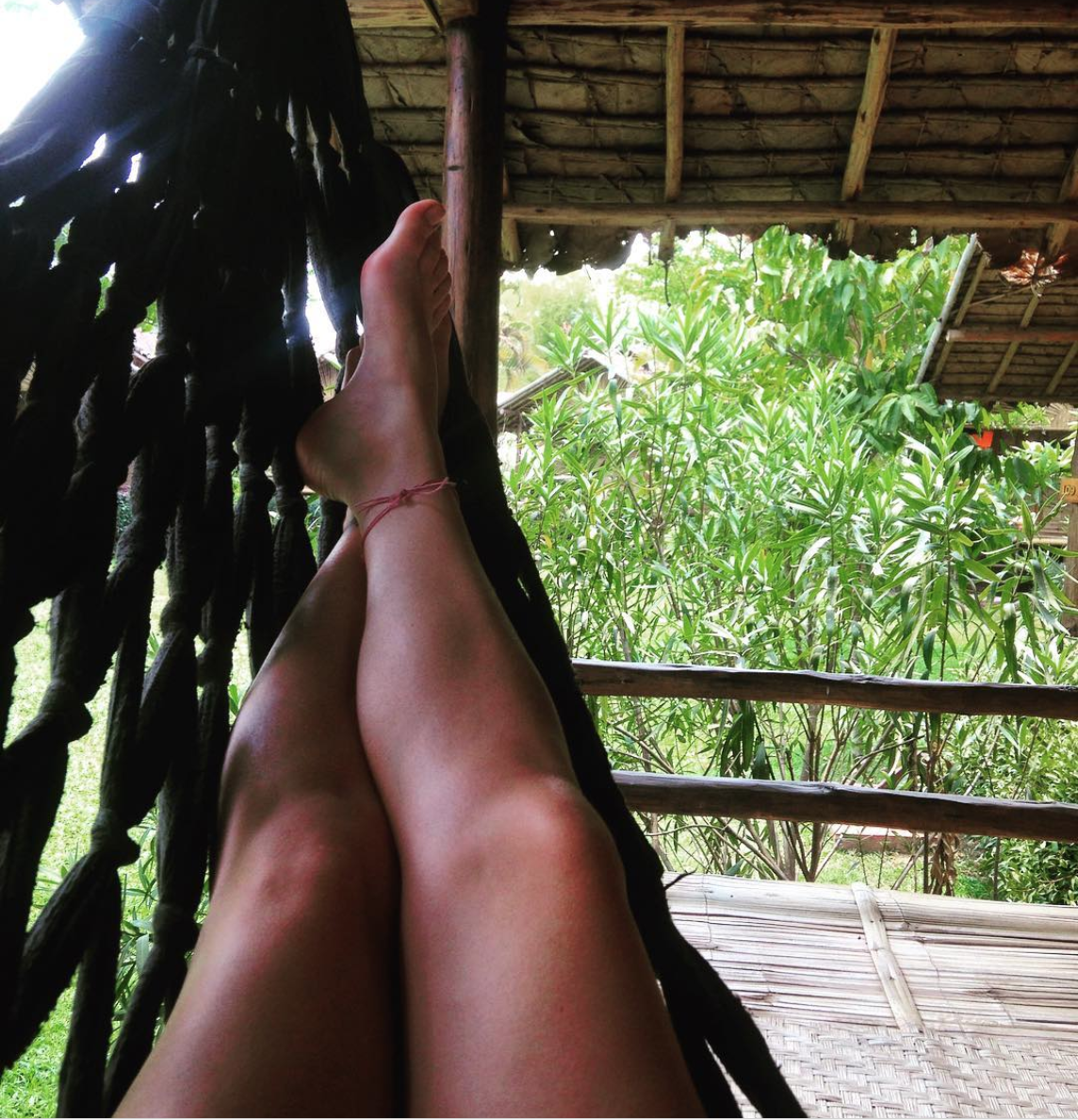Taking a well deserved break in Pai, Thailand.