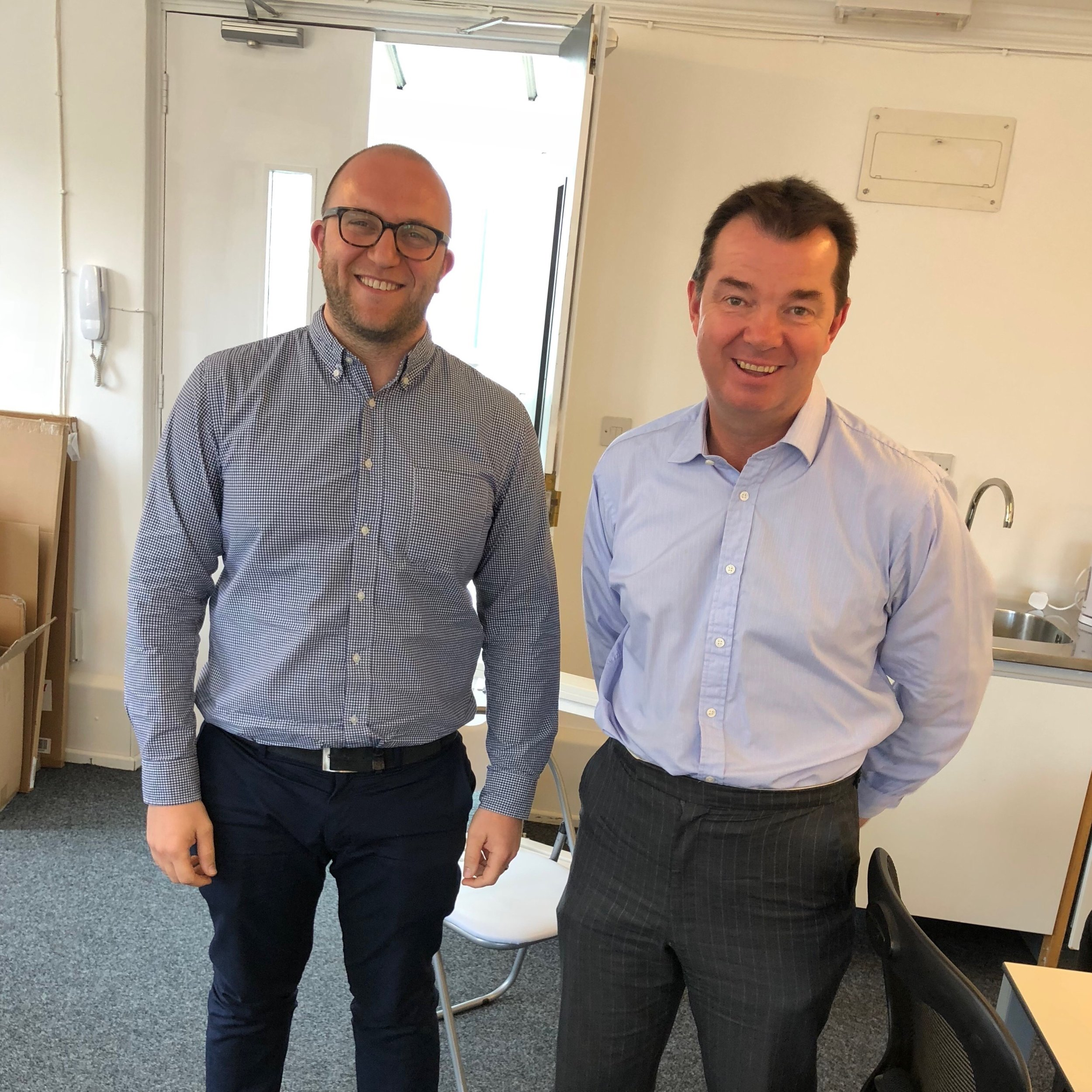 Fun Fact: We're not the only ones who think Goal based saving is great. Here is Simon meeting with the Minister of Pensions, Guy Opperman, who wanted to pick our brains!