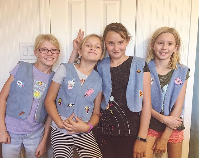 Another batch of vests finished! They are too cool for school 😎.