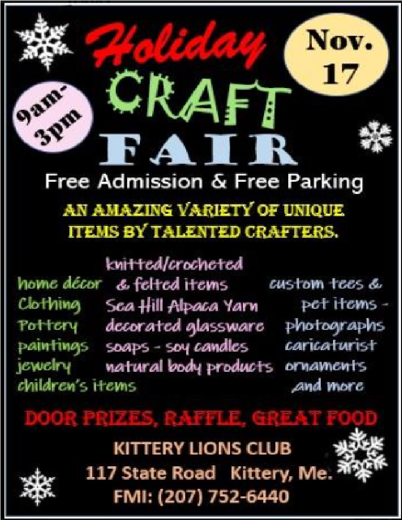 2018 Holiday Craft Fair Flyer to post.jpg