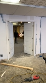 The doors to our warehouse are on!