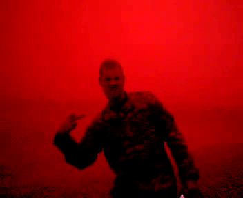 Video still from 'We Used to Play Hide and Seek Under the Red Sky', courtesy of the artist.