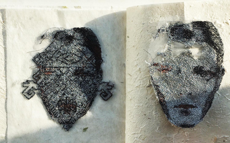 Image from the artist's sketchbook / sanatçının eskiz defterinden görüntü.Courtesy of artist / sanatçının izniyle.