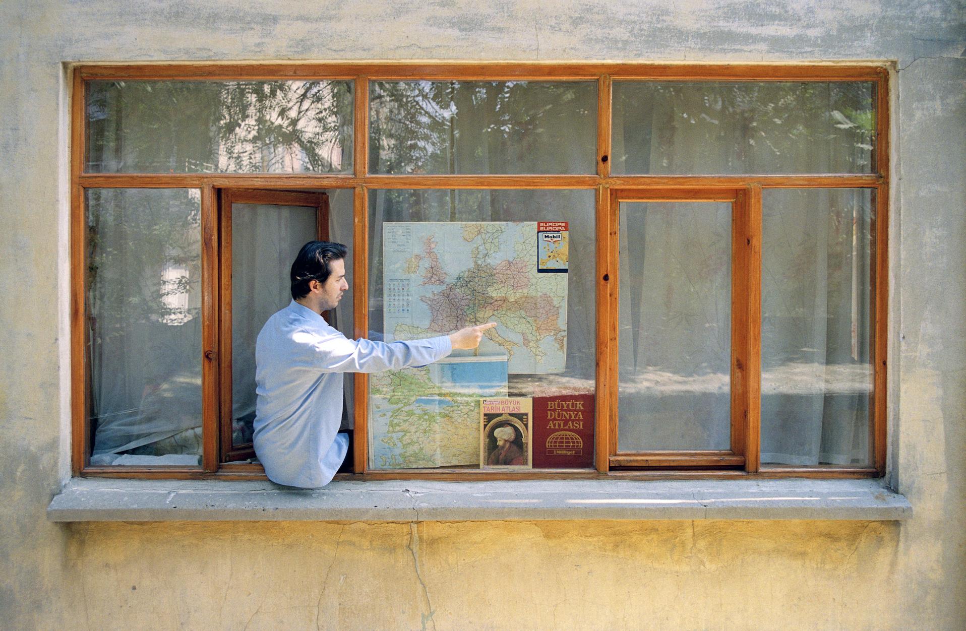 Detail from Bülent Şangar's  Untitled (Windows) , 1997-2007.Courtesy the artist and Salt.