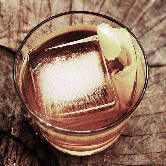 CUT TO THE SPICE - spice on ice with a twist of orange  #cocktails #bartenderlife #instagood #cocktailshot #rum #spicedrum #photo #photograhy #tastesogood #straightup #picoftheday