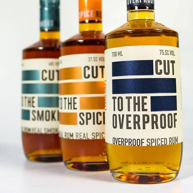 CUT RUM IS HERE #spicedrum #overproofrum #smokedrum #rum #new #newspirits #instagram #insta #instagood #picoftheday #antibrand #noseamonsters #drinks #bartenderlife #bar #newbrand