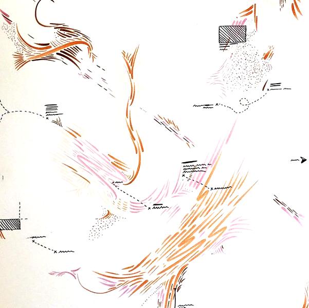 Projected Wind Patterns Over Imaginary Lands , Kinda Akash