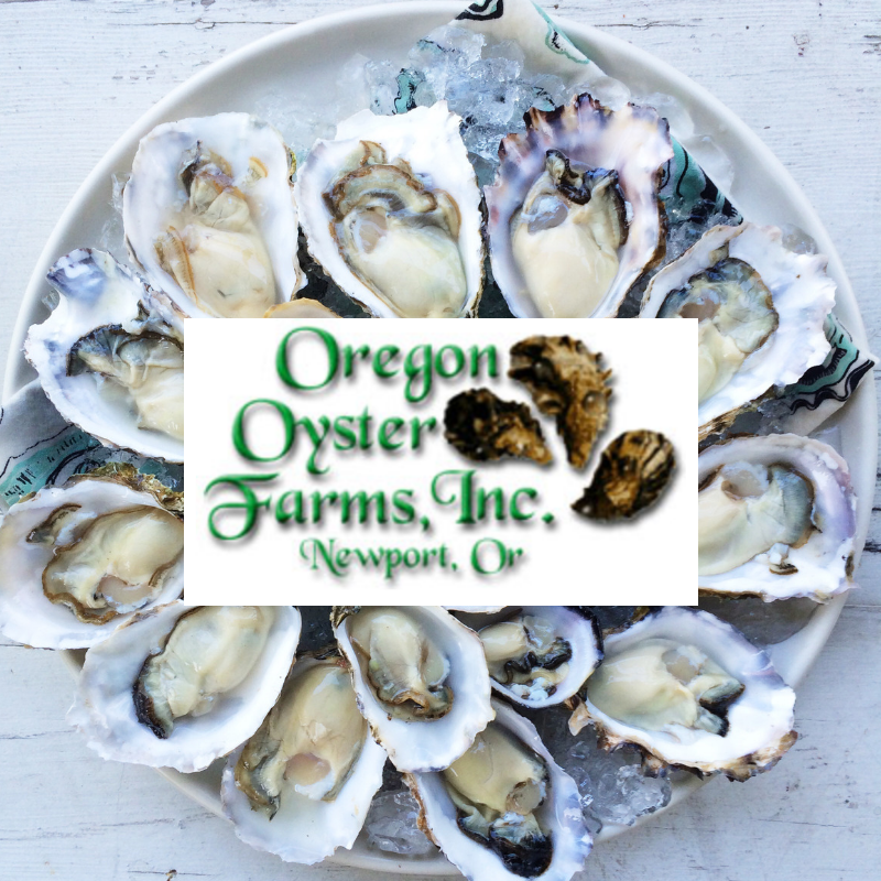 Half-gallon of shucked oysters per month for a year.