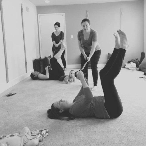 what is BIRTHFIT? - What we're known for:You've most likely heard of BIRTHFIT as a pregnancy and postpartum exercise plan. Which you wouldn't be incorrect about, because BIRTHFIT HQ does have fitness programming you can purchase on our website. However, the FITNESS pillar isn't just about exercising during pregnancy and postpartum.It's about training EFFECTIVELY in a way that will prepare you for your birth experience, adapting movements to keep you connected with your ENTIRE CORE (from your neck all the way down to your pelvic floor), learning proper breathing, core, and posterior chain engagement during movement (can help with common pregnancy and postpartum pains), and movement guidelines to support you during all four trimesters. If you're pregnant and newly postpartum and your trainer or coach has you doing any type of sit ups, crunches, twists, mountain climbers run for the hills!!! Our Prenatal Training and Postpartum Programs teach specific movements that are known to help reduce symptoms of diastasis recti, properly utilize the pelvis and pelvis floor, and build you and your posterior chain to be as strong as a mother!