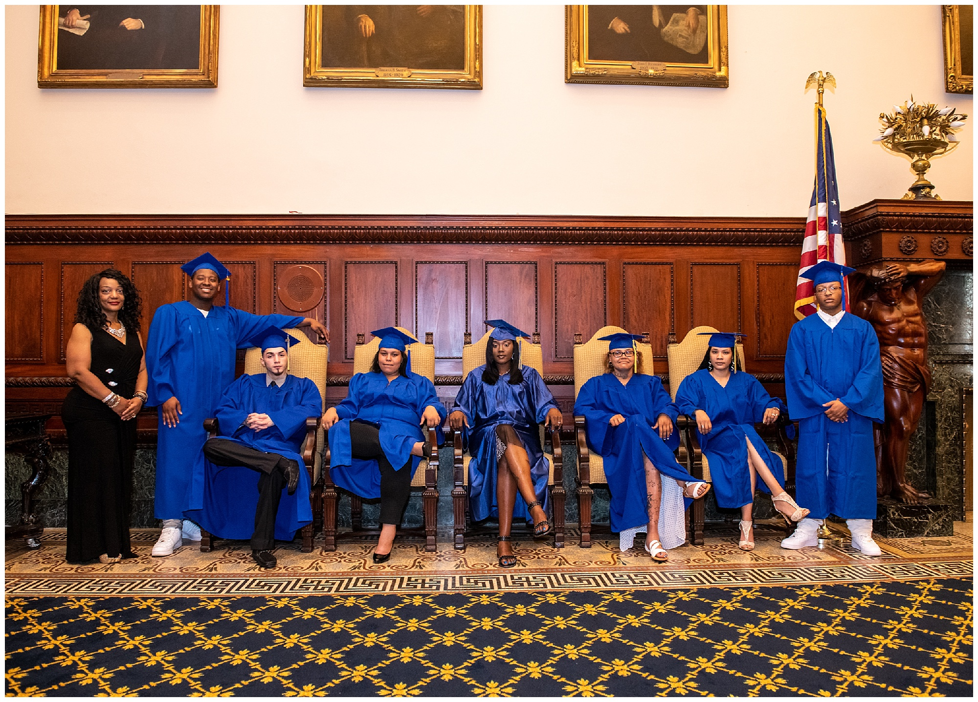 The Choice is Yours 2018 Graduation at Philadelphia City Hall, hosted by JEVS and Penn Foster