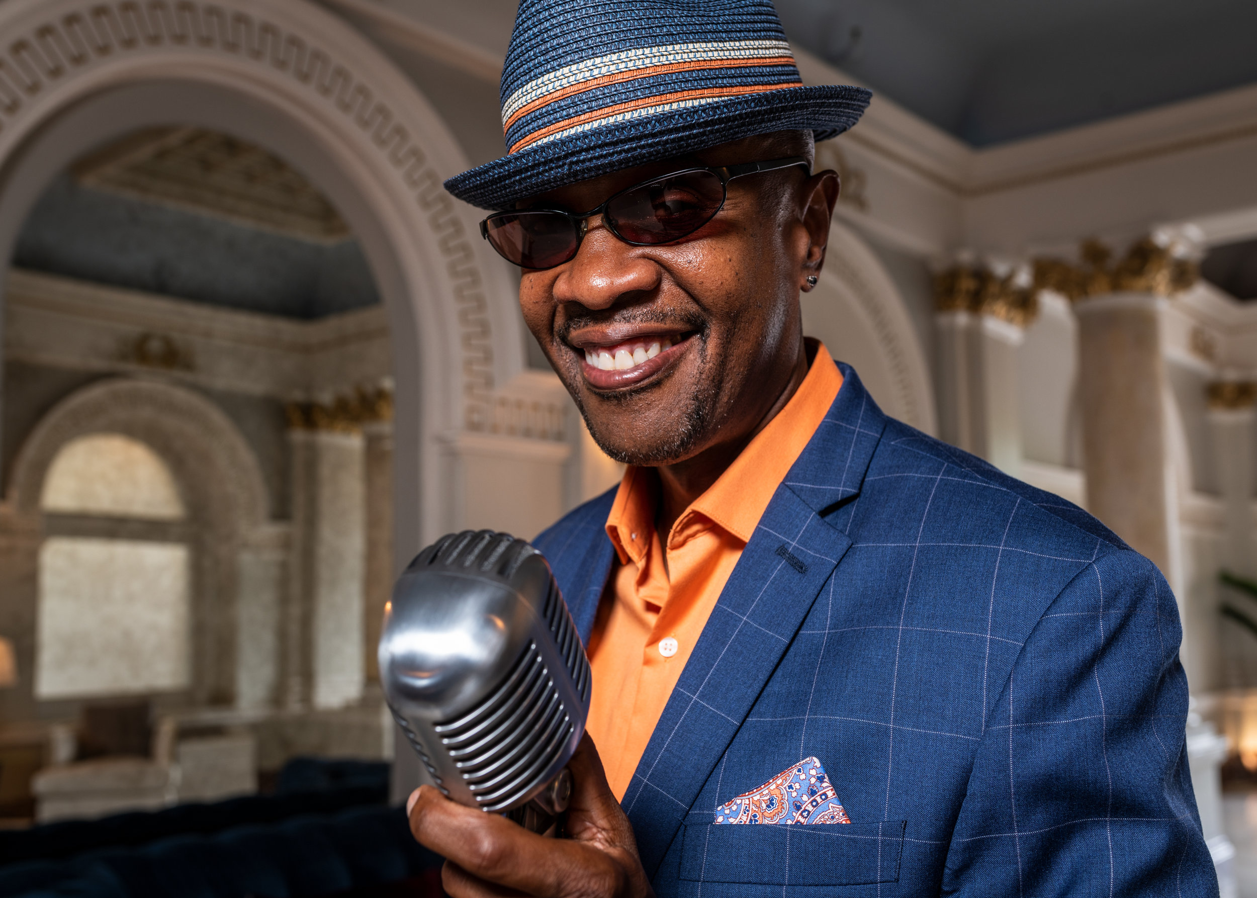 Vocalist Kevin Valentine for Philadelphia Jazz Project