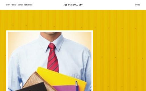 Job Uncertainty - Built on Squarespace.