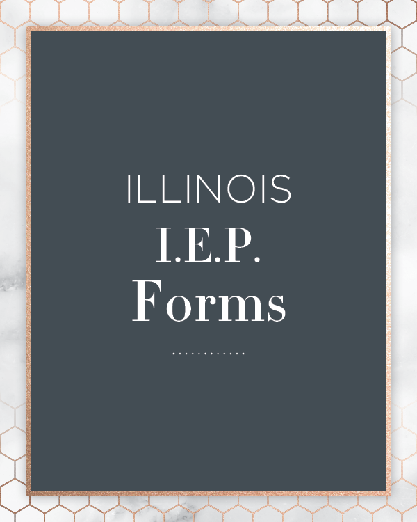 Kids First Collaborative Special Education Advocate IEP Consultant Chicago Illinois LineIllinois IEP Forms