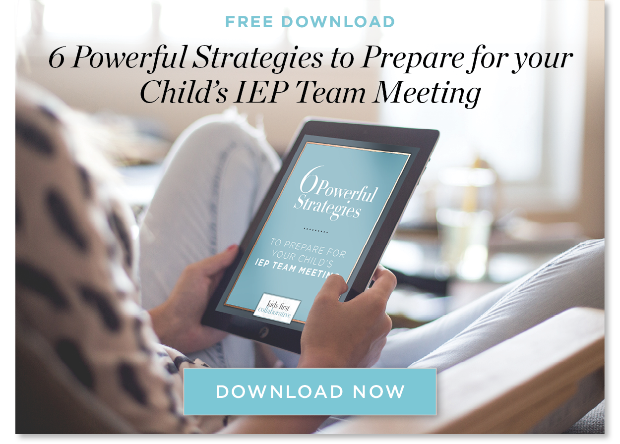 IEP Meeting Strategies Special Education Advocate IEP Consultant Chicago Illinois