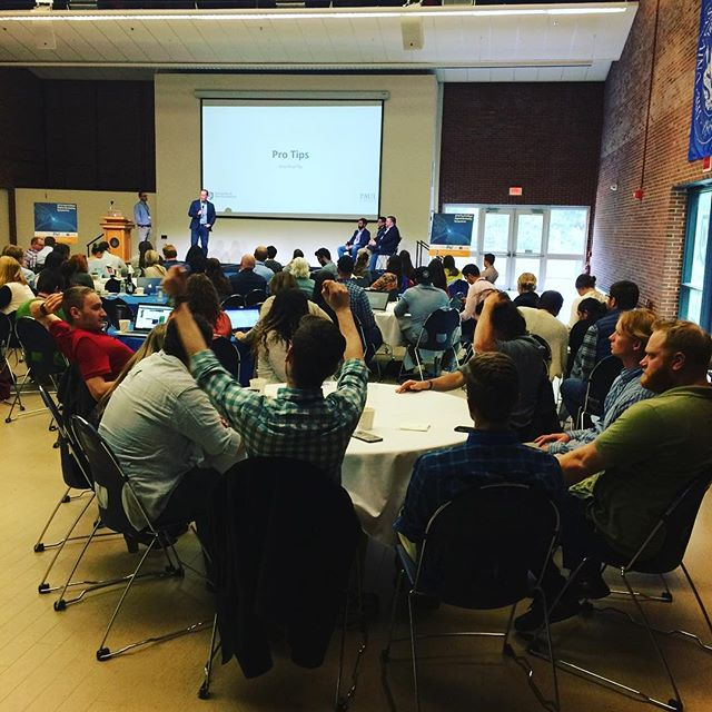 Learning about digital marketing @unh digital marketing symposium. A skill required by everyone in today's world.