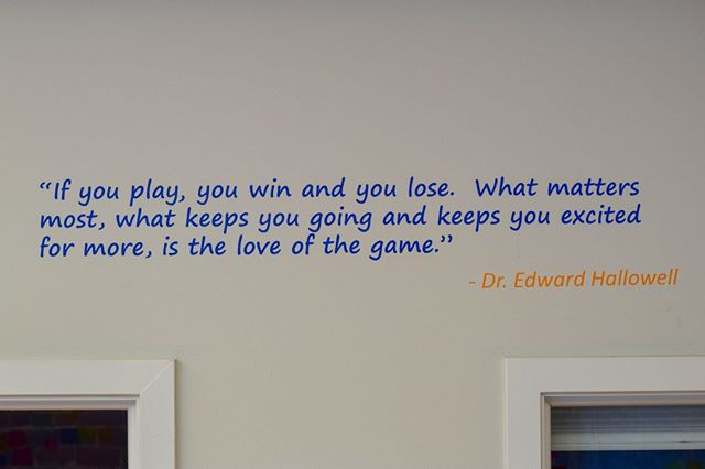 Some wise words from @dr_hallowell #QuoteOfTheWeek