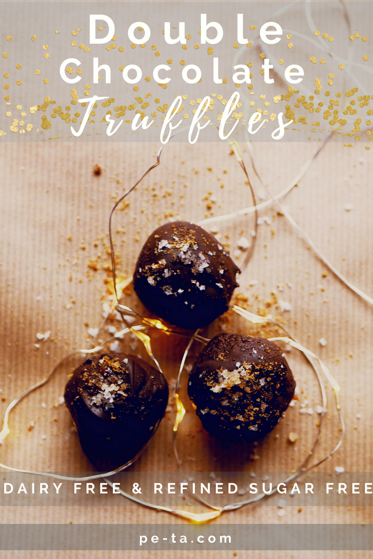 Double Chocolate Truffles Recipe - Perfect As An Edible Gift