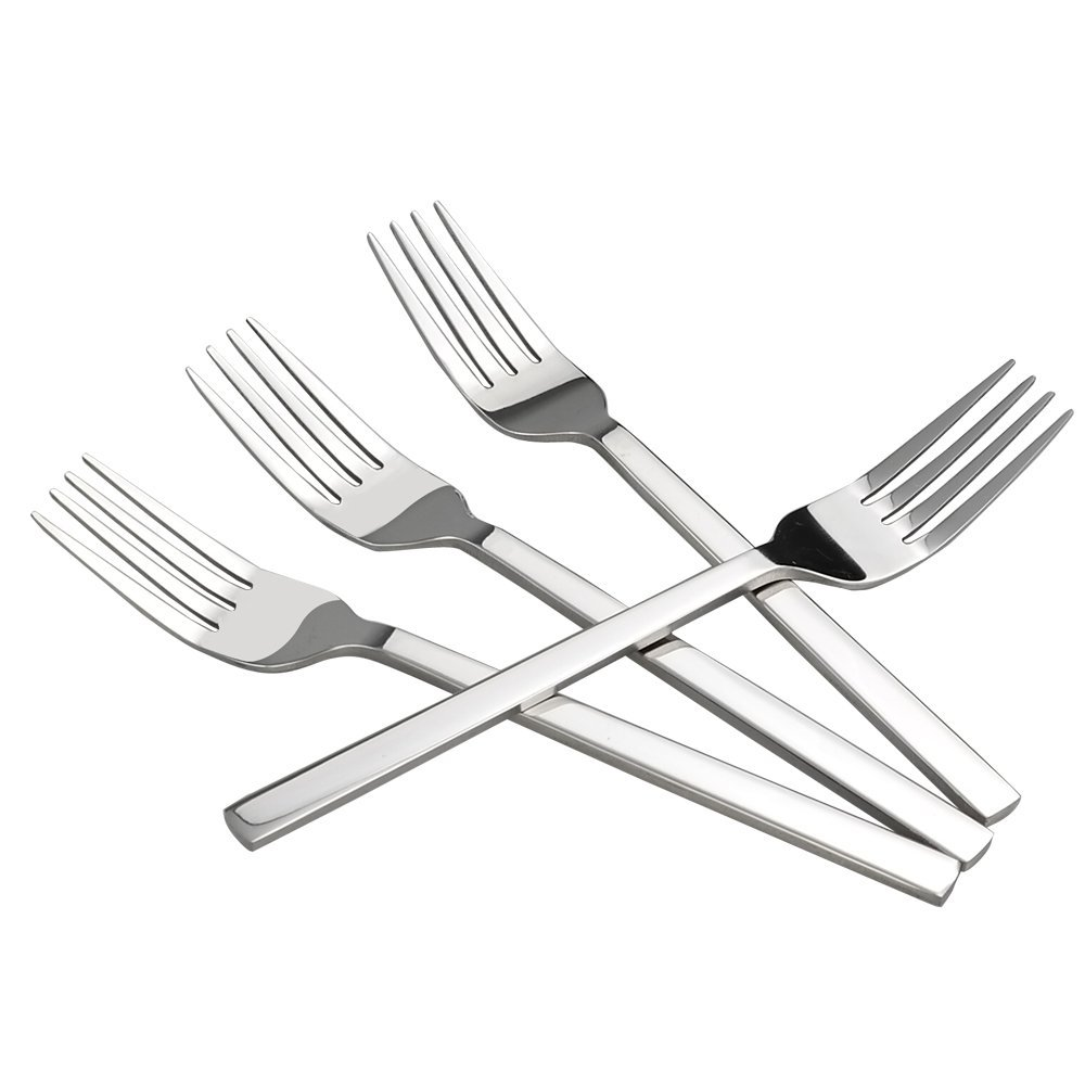 Stainless Steel Forks - Set of 12