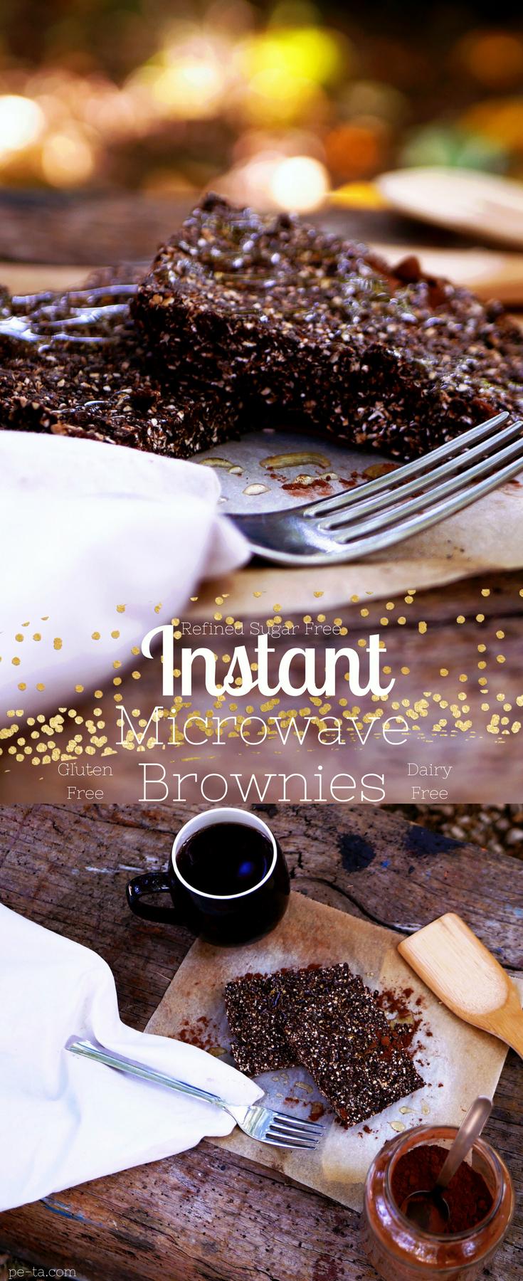 Instant Microwave Brownies