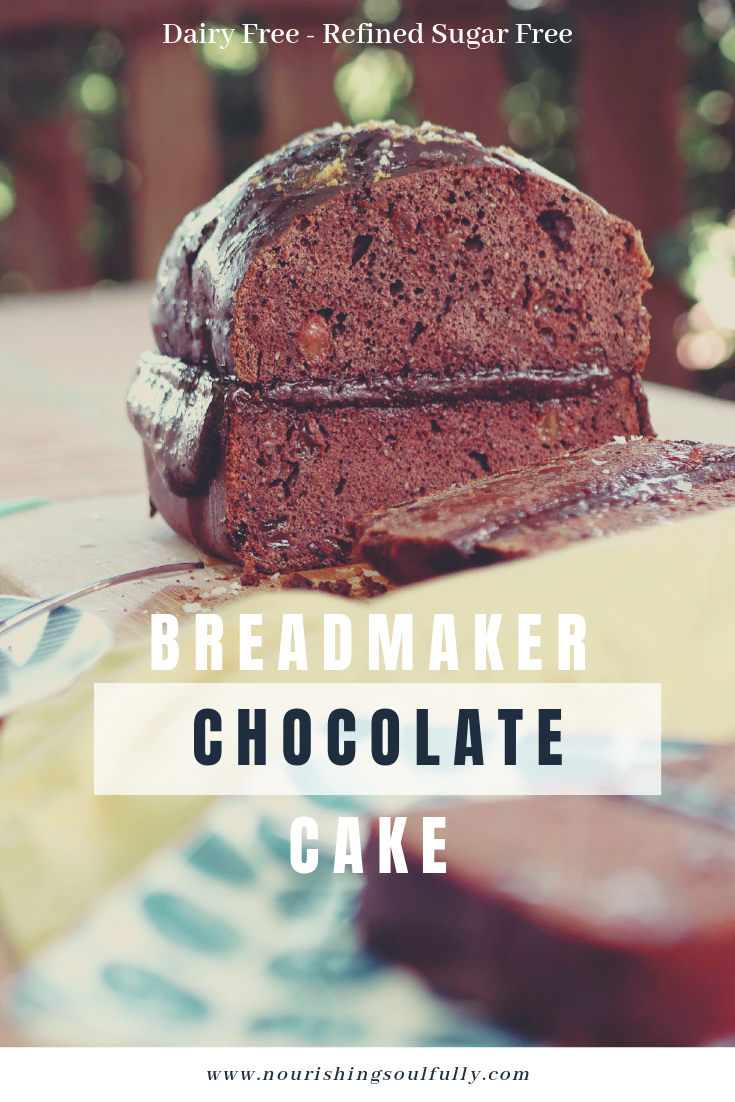 Chocolate Cake made in a bread maker