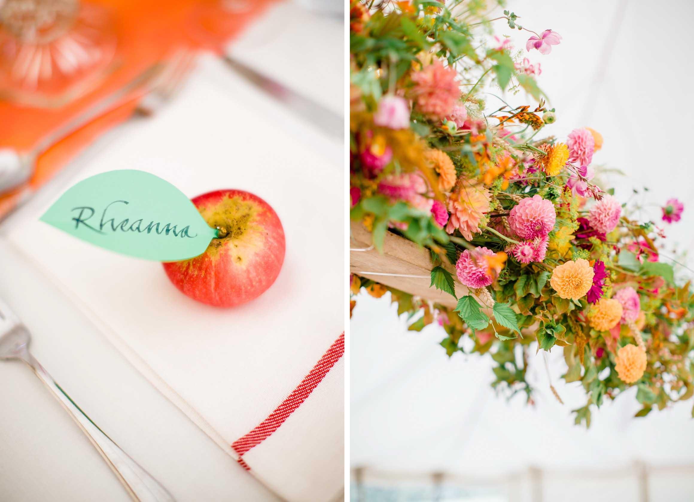 Amy O'Boyle Photography, Destination & UK Fine Art Film Wedding Photographer, DIY Carnival Farm Wedding with May Pole 3.jpg