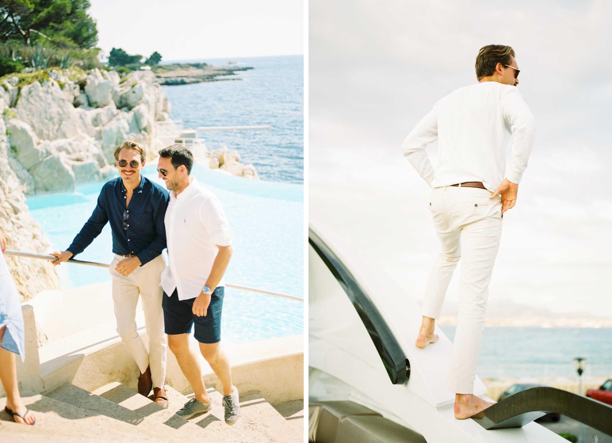 Amy O'Boyle Photography- Destination & UK Fine Art Film Wedding Photographer- South of France Hotel Du Cao Eden Roc St Tropez Yacht 12.jpg