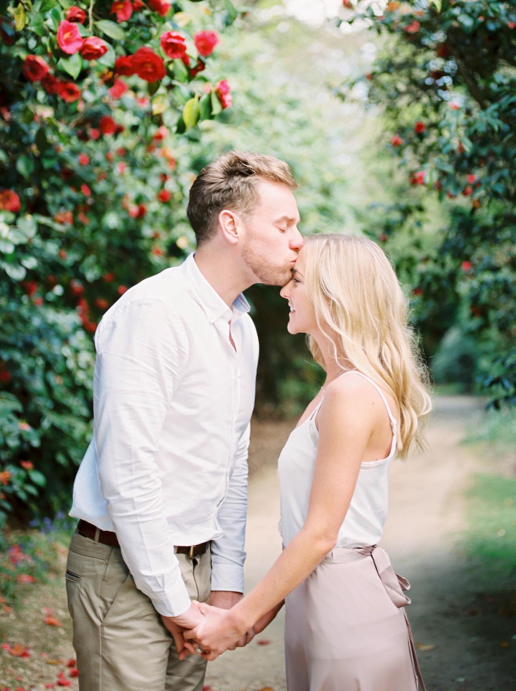 Amy O'Boyle Photography- Destination & UK Fine Art Film Wedding Photographer- Sheffield Park Garden National Trust Spring Engagement Shoot-2.jpg