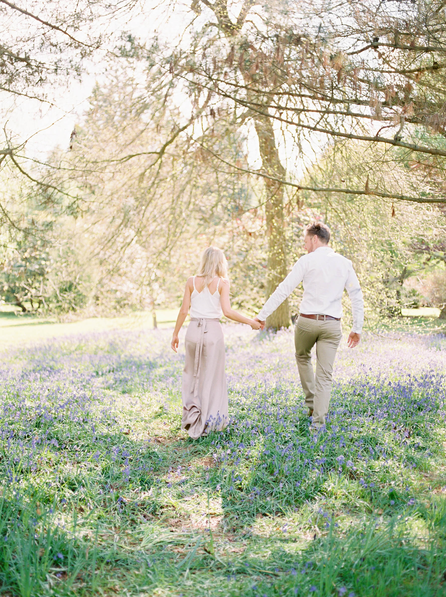 Amy O'Boyle Photography- Destination & UK Fine Art Film Wedding Photographer- Sheffield Park Garden National Trust Spring Engagement Shoot-9.jpg