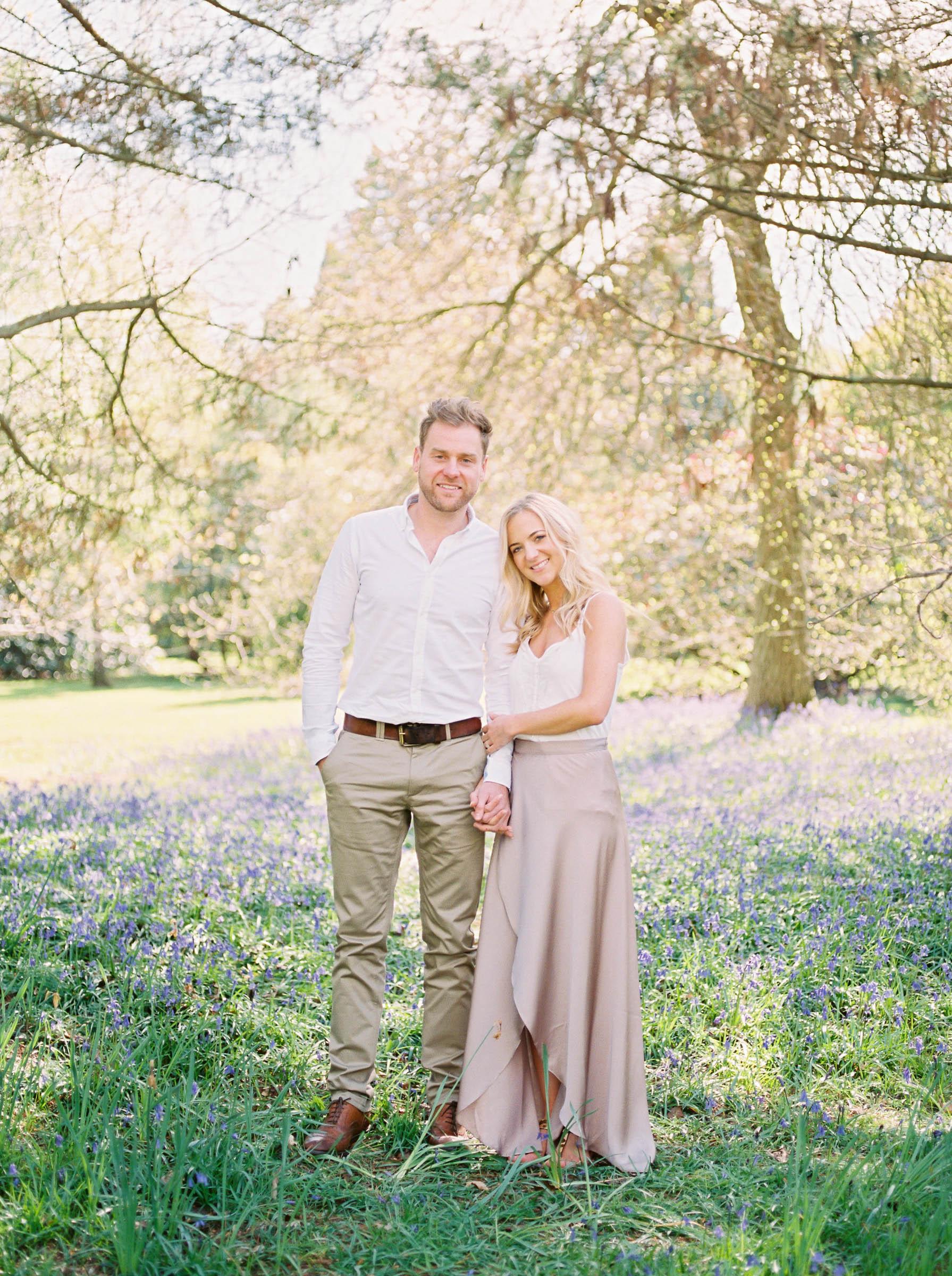 Amy O'Boyle Photography- Destination & UK Fine Art Film Wedding Photographer- Sheffield Park Garden National Trust Spring Engagement Shoot-14.jpg