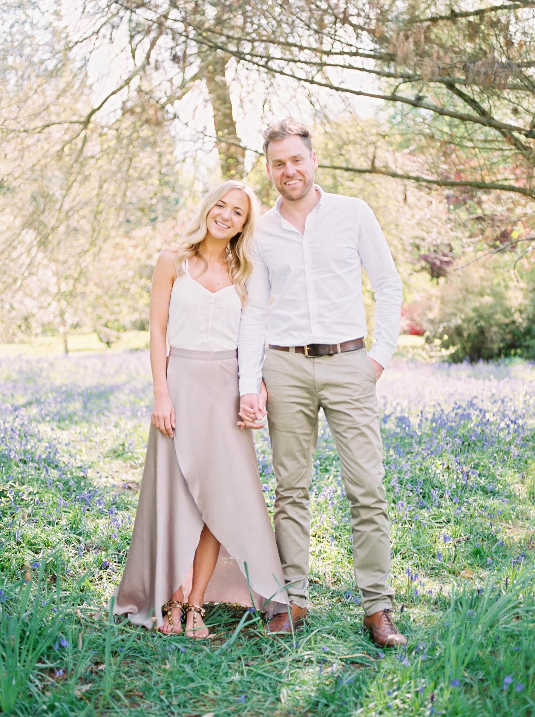 Amy O'Boyle Photography- Destination & UK Fine Art Film Wedding Photographer- Sheffield Park Garden National Trust Spring Engagement Shoot-18.jpg