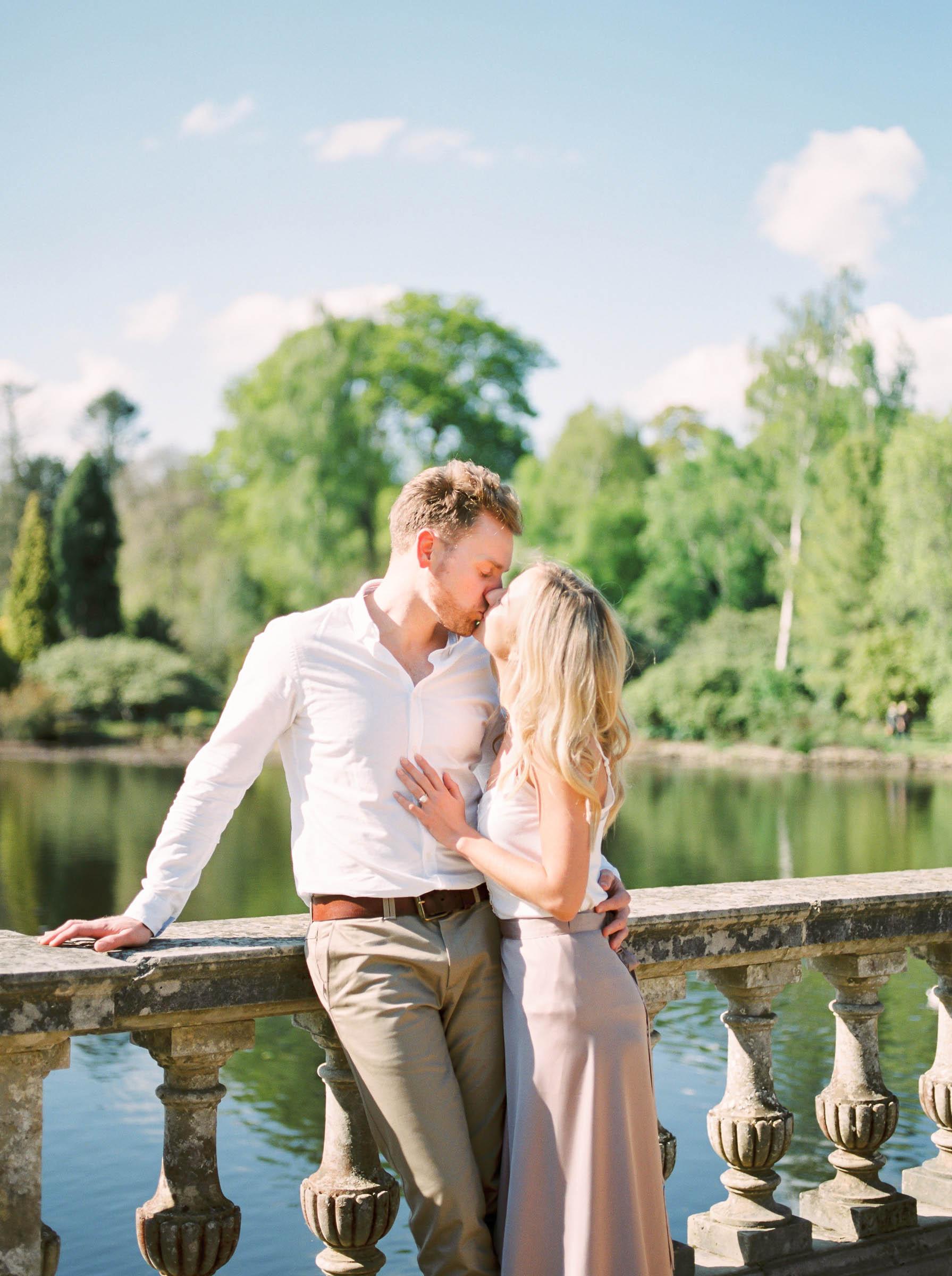 Amy O'Boyle Photography- Destination & UK Fine Art Film Wedding Photographer- Sheffield Park Garden National Trust Spring Engagement Shoot-26.jpg